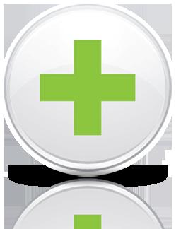 Connected Health Circle Logo Shadow